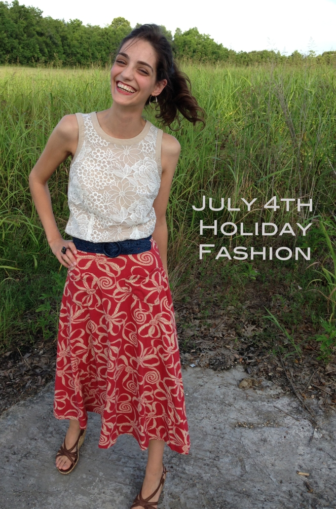 July 4th Holiday Fashion for any occassion