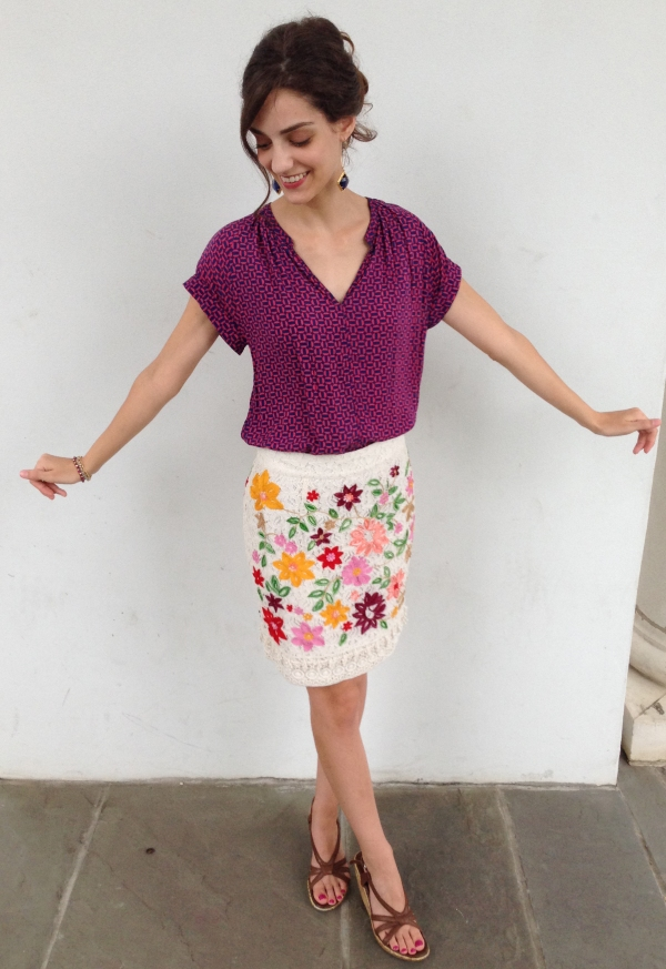 how to style mixed patterns