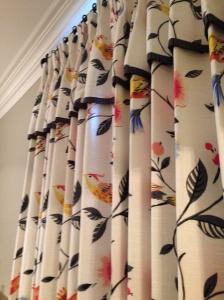 The Singing Bird Custom Draperies, www.erinsnotions.com