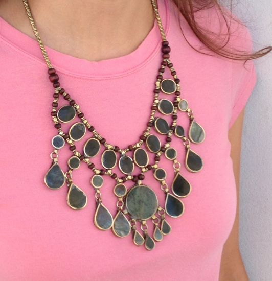 the statement necklace, www.erinsnotions.com