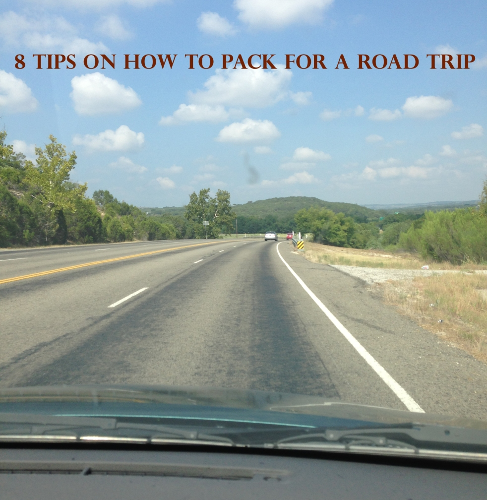 8 tips on how to pack for a road trip