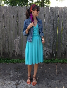 dress refashion and restyle