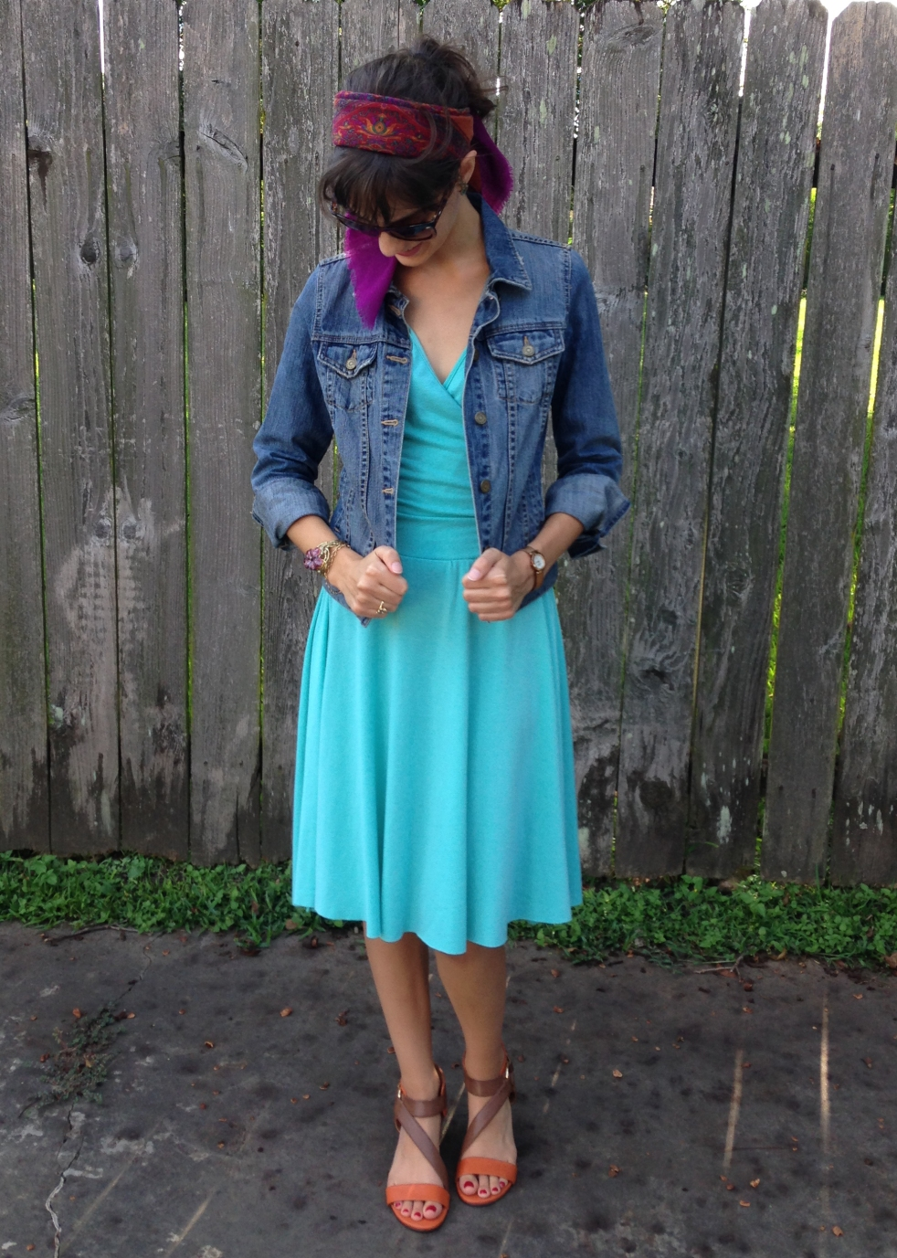 how refashion and restyle your favorite dress