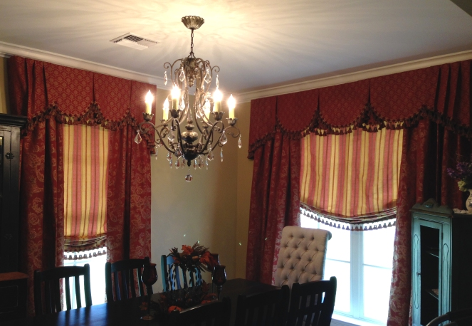 pattern mixing for custom dining room design