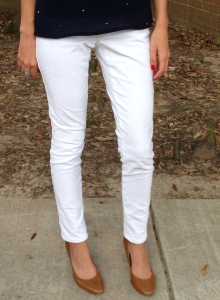 how to make your bootcut jeans into skinny jeans