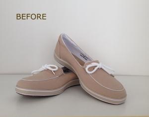 DIY: sparkle shoes