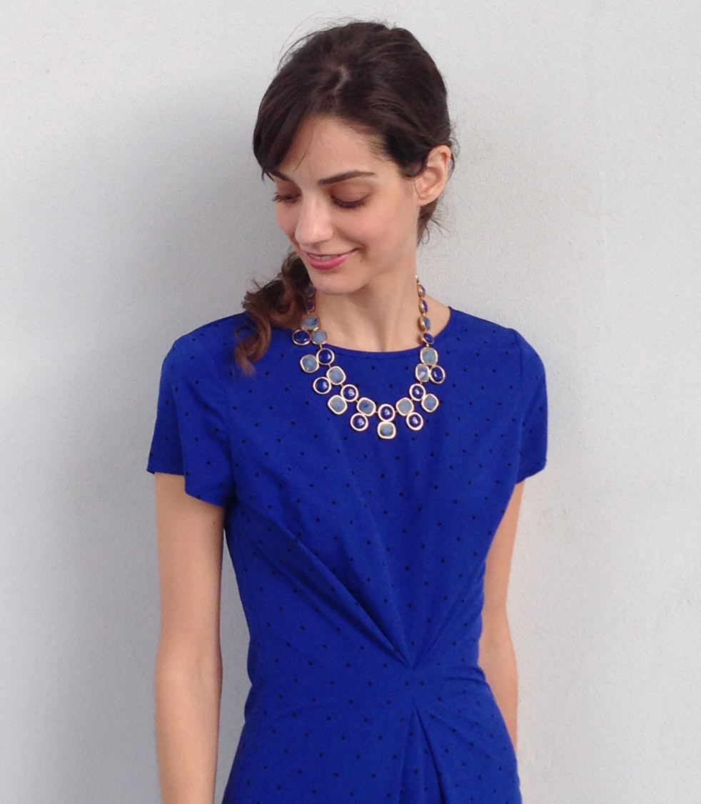 Easy refashion with a center front pleat