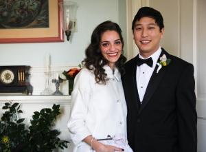 wedding day reveal