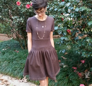 original dress design : wool and pockets