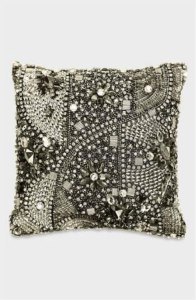 turn glittery dress into home pillow