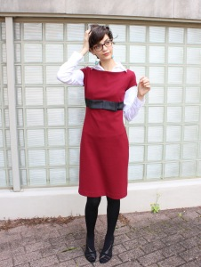 layering short sleeve dresses for the winter