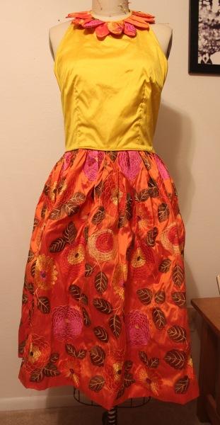 refashion floral dress