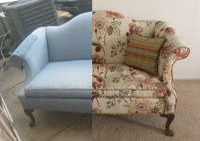 how to refashion a dumpster find
