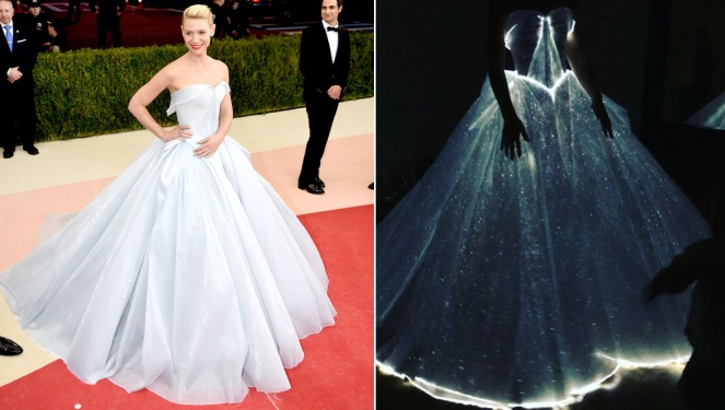 Clare Danes in Zac Posen's light up dress
