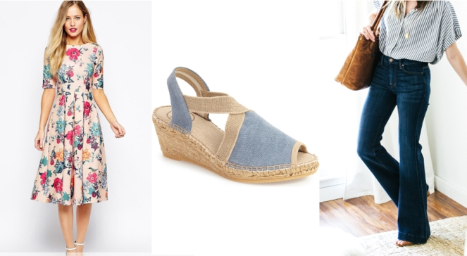 favorite spring/summer trends of 2016: longer hems, espadrilles, and wide leg pants
