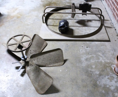 Removal of whole house attic fan